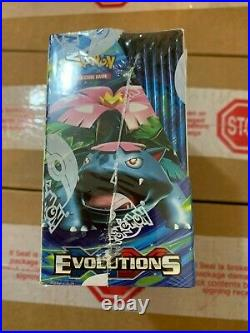 2016 Pokemon XY Evolutions Factory Sealed Booster Box GilbertGames Ship Fast