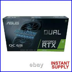 ASUS Dual GeForce RTX 2060 OC BRAND NEW SEALED FREE FAST SHIPPING