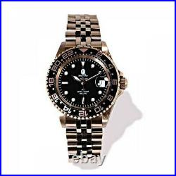 A BATHING APE Men's Automatic Watch TYPE 2 BAPEX Gold Fast Shipping From Japan