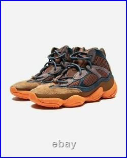 Adidas Yeezy 500 High Tactile Orange GW2873 Mens Size 12 In Hand, Ships FAST