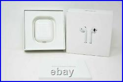 Apple AirPods 2nd Gen Wireless Earbuds Charging Case MV7N2AM/A + Fast Shipping