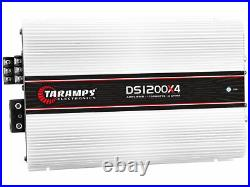 Authentic Taramps Ds1200x4 2 Ohms 1200w Amp From Brazil (ships From USA Fast)