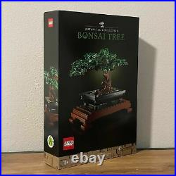 BRAND NEW LEGO SET (10281) Bonsai Tree (2021) IN HAND FAST SHIPPING
