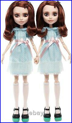 BRAND NEW The Shining Grady Twins Monster High Collector Doll Mattel SHIP FAST