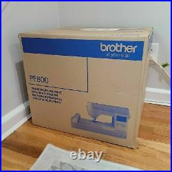 Brother PE800 5x7 Embroidery Machine New Sealed in Box FREE FAST SHIPPING