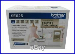 Brother SE625 Computerized Sewing and Embroidery Machine FAST FREE SHIP