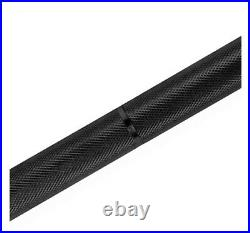 CAP Barbell 2-Inch 7 ft Black SOLID Olympic Weight Bar IN HAND SHIPS FAST