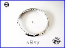 Alfa Romeo Spider Headlight Trim Ring Right Wide Stainless Steel 10503650410 New