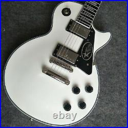 Custom Factory High-Quality Double Pickup white Electric Guitar Fast Shipping