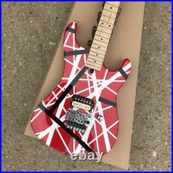 Custom Factory High-Quality Red Standard Electric Guitar Fast Shipping