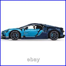 DHL FAST SHIPPING Technic Bugatti Chiron Compitible TO 42083 With Manual Book