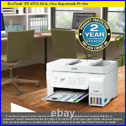 Epson ECOTANK ET-4700 Wireless All-In-One Color Supertank Printer! SHIP FAST