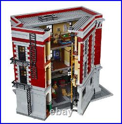 Fast Shipping CUSTOM GHOSTBUSTERS FIREHOUSE COMPITIBLE LEGO 75827 + Manual Books