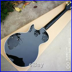 Great Christmas offer! Black 3 Pickup Custom Guitar Free Fast Shipping