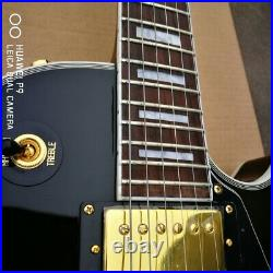 Guitar Store Standard High Quality Black Guitar Electric Guitar Fast Shipping