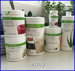 HERBALIFE FORMULA 1 BEVERAGE MIX PROTEIN-FIBER-ALOE-TEA Fast Shipping From US