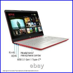 HP 15.6 Pentium 4GB/128GB Laptop-Scarlet Red Brand New Sealed Fast Shipping