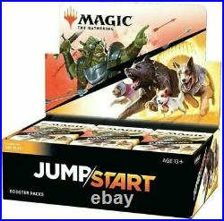 In Hand Magic The Gathering Jumpstart Booster Box Factory Sealed Fast Ship