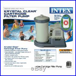 Intex 28633EG 2500 GPH Above Ground Swimming Pool Filter Pump SHIPS FAST IN HAND