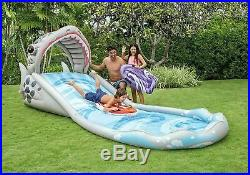 Intex Surf N Slide Inflatable Play Center, 181 X 66 X 62 for Ages 6+ SHIPS FAST