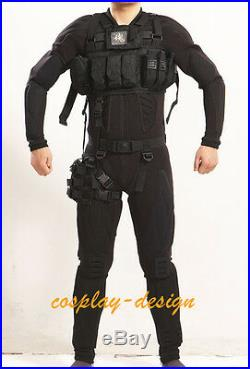 Metal Gear Solid 4 Snake MGS4 Cosplay Costume Standard size FAST SHIPPING