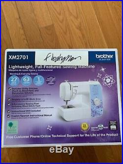 New Brother XM2701 Lightweight Full-Featured Sewing Machine Fast Ship In Hand