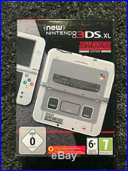 New Nintendo 3ds XL Super Nintendo New / Fast Shipping / The Cheapest On Ebay