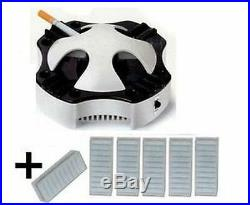 New World's Best Smokeless Ashtray + Free 6 Pack of Filters! Fast Free Shipping