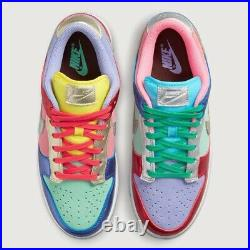 Nike Dunk Low Sunset Pulse Womens Size 6.5With5M 100% Authentic (FAST FREE SHIP)