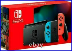 Nintendo Switch 32GB with Neon Red and Blue Joy-Con Brand New Ships Fast