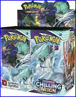 Pokemon Chilling Reign Booster Box Brand New and Sealed! Preorder Ships Fast