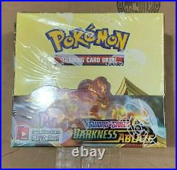 Pokemon Darkness Ablaze Sealed Booster Box In Hand GilbertGames Ship Fast