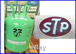 R22, 10 lbs. Refrigerant Sealed Free Shipping, Fast Same Day, STP Racing Decal