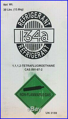 R-134A Automotive Refrigerant 30 Lb Cylinder- New-Factory Sealed-Fast Shipping