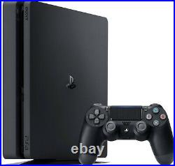 Ship Now Sony PlayStation 4 PS4 1TB Black Console with Wireless Controller Fast
