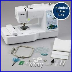 Ships Fast Brand New! Brother PE535 4 x 4 Embroidery Machine with Touch LCD