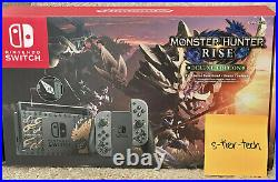 Ships Fast! Nintendo Switch Monster Hunter Rise Deluxe Edition Console IN HAND