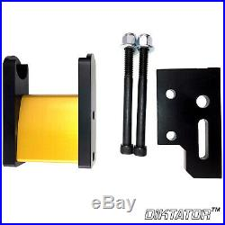 Small Wheel Holder & wheels for 2x72 Belt Grinder Anodized Fast Shipping