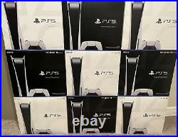 Sony PlayStation 5 Console Disc Version (PS5) FAST FREE SHIPPING