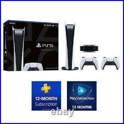 Sony PlayStation 5 Digital Edition Bundle PS5 Fast Free Overnight Shipping