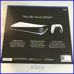 Sony PlayStation 5 PS5 Console Digital Edition NEW IN HAND FAST FREE SHIPPING