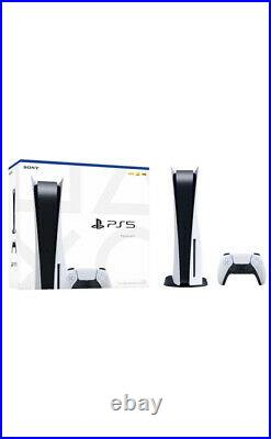 Sony PlayStation 5 (PS5) Console Disc Version IN HAND SHIPS FAST