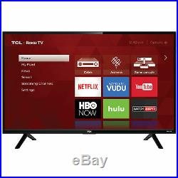 TCL 32 Inch HD 720P Smart LED LCD HDTV 60hz TV with USB & HDMI 32S305 FAST SHIP