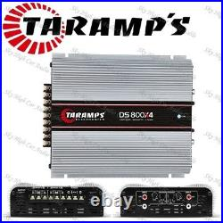 Taramps Ds800x4 2 Ohms 4ch X 200 Class D (ships Fast From Usa) USA Warranty