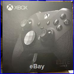 Xbox One S Elite Series 2 Controller Black New Fast Ship by USPS Priority